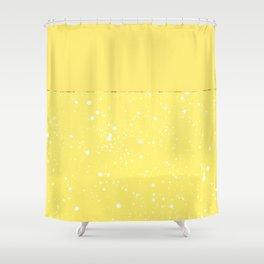 XVI - Yellow Shower Curtain