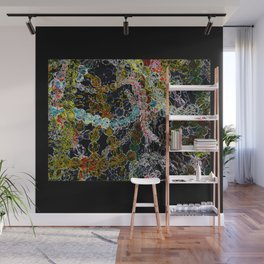 Abstract Beads Wall Mural