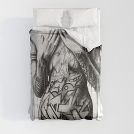 GIRL-GRAFF-ART Comforters