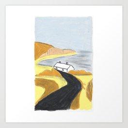 Salty Breeze Art Print