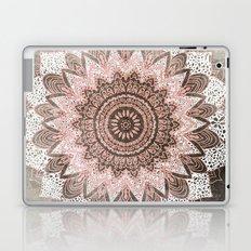 BOHOCHIC MANDALA IN CORAL Laptop & iPad Skin