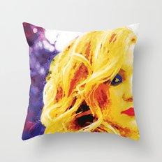 Blondie Throw Pillow
