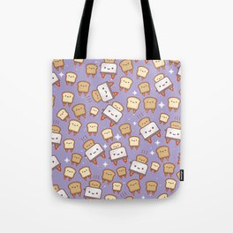 Space Toast Tote Bag