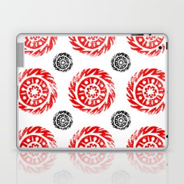 Sun mandala pattern Laptop & iPad Skin