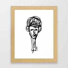 Boykind Framed Art Print