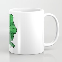 Weed Fist   Cannabis Marijuana THC CBD Coffee Mug