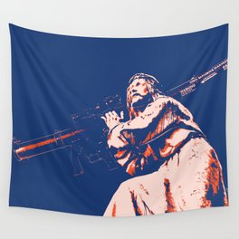 Rocket Propelled Christ - Who WOuld Jesus Blow Up Wall Tapestry