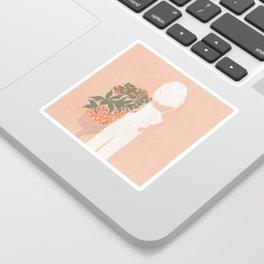 Flower Shoppe Girl Sticker