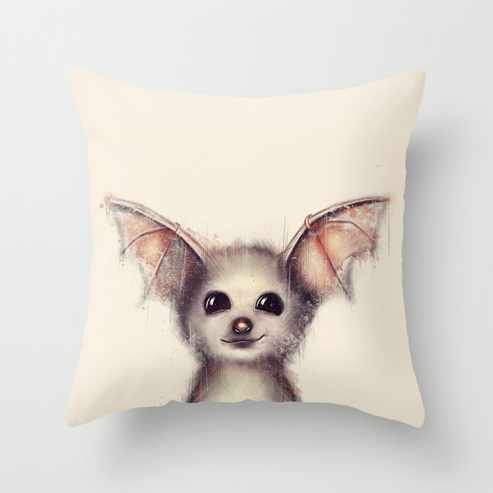 What the Fox? Throw Pillow