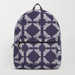 Meteorite Purple Arts and Crafts Butterflies Backpack