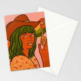 She's Trouble Stationery Cards