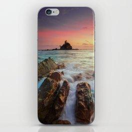 Sea Rock iPhone Skin