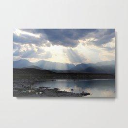 Divine Light - Mono Lake, CA Metal Print