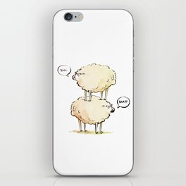Dolly the Sheep (and Clone) iPhone Skin