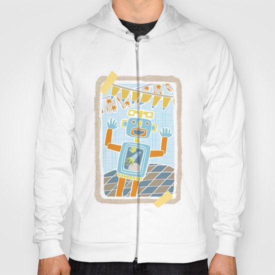 party robot Hoody