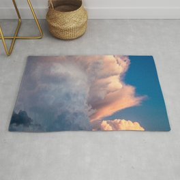 Cotton Candy Clouds Rug