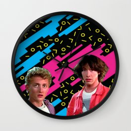 Bill and Ted x Wall Clock