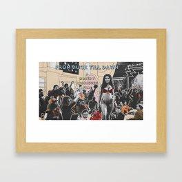 FROM DUSK TILL DAWN Framed Art Print