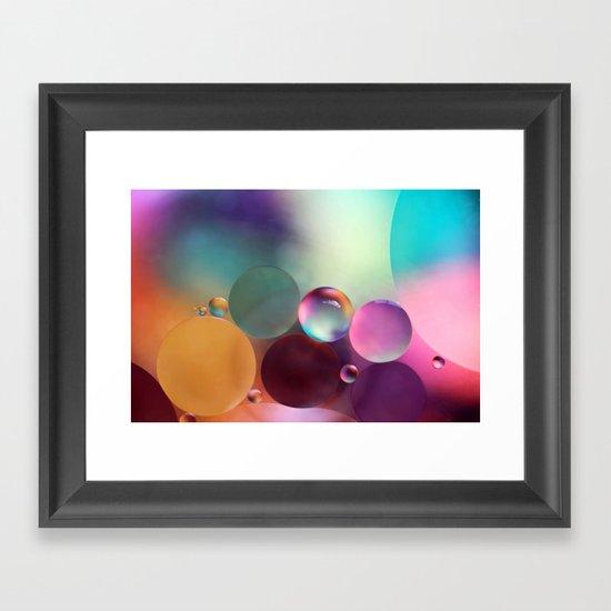 life is sweet Framed Art Print