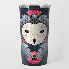 Owl 1 - Dark Travel Mug