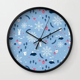 Merry X'mas Wall Clock