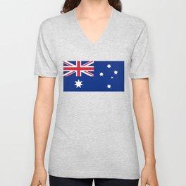 Flag of Australia - Australian Flag Unisex V-Neck