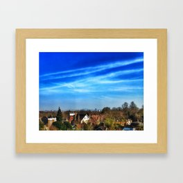 Hampstead Skyline Framed Art Print