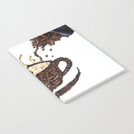 "I ""scream"" for coffee! Notebook"
