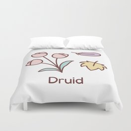 Cute Dungeons and Dragons Druid class Duvet Cover