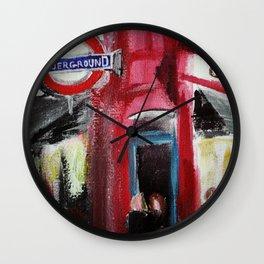 London Underground Covent Garden Wall Clock