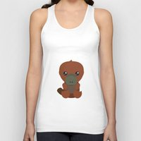 platypus Tank Tops featuring Platypus by triduscraft