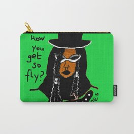 Sugah, How you get so Fly (GREEN) Carry-All Pouch