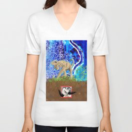 Digging Up the Girl, Growing the Girl Unisex V-Neck