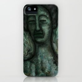 Biblical Jezebel by rafi talby iPhone Case
