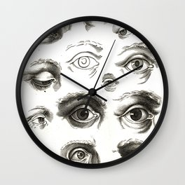 Ars pictoria Wall Clock