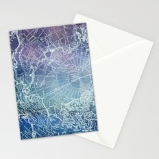 Polar Purples Stationery Cards