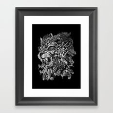 Jaguar Warrior Framed Art Print