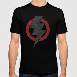 lightning strike zone T-shirt