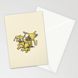 Pokémon - Number 63, 64 & 65 Stationery Cards