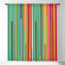 Mod Stripes Blackout Curtain