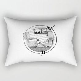 Rain Kills Rectangular Pillow