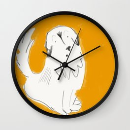 Scaredy George Wall Clock