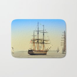 Sail Boston - Oliver Hazard Perry Bath Mat