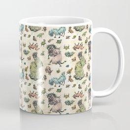 Monster Pattern Coffee Mug
