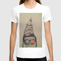 jfk T-shirts featuring JFK Sundae by Hannah McKee