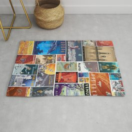 Space Travel Rug