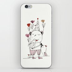tulips for springtime iPhone Skin