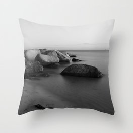 Stones in the sea 2 Throw Pillow