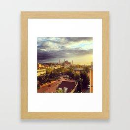 Good Morning Istanbul Framed Art Print