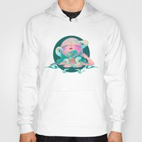 horror Hoodies featuring Horror fish by STUDIO KILLERS